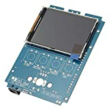 DSO150 15001K DIY Digital Osciloscopio Unassembled Kit con alojamiento DSO-Shell
