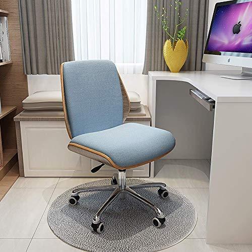 Home Einfache moderne Studienstuhl ohne Armlehnen Bürostuhl Schreibtisch Drehstuhl MISU