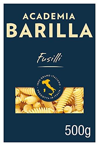 Barilla Pasta Hartweizen Academia Fusilli – 12er Pack (12x500g)