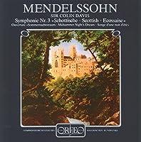 メンデルスゾーン:「スコットランド」 [Import] (Mendelssohn - Scottish Symphony; Midsummer Night's DreamOverture)