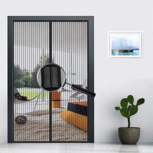 Mosquitera Magnética, Versión Mejorada En 2021 Cortina Mosquitera Magnética Puertas Mosquitera Puerta Magnetica para Puertas De Sala La Puerta del Balcón Puerta