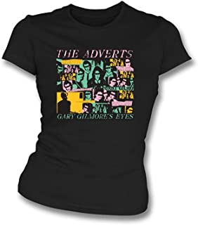 The Adverts - Gary Gilmour's Eyes Tシャツ - 女性用スリムフィット