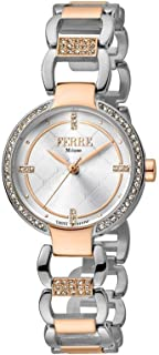 Ferre Milano Casual Watch For Women Analog Stainless Steel - FM1L139M0091