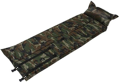 Houtdo Matelas Autogonflant Gonflable De Camping Résistant à l'eau Ultraléger Tapis De Couchage Camouflage Résiste à L'humidité Pliant 11.8X5.9in