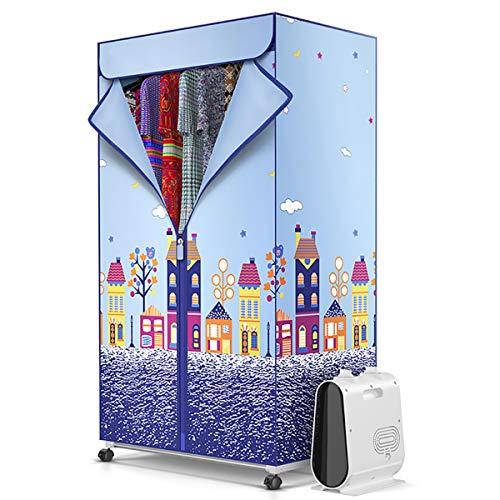 YYHJ – Armario de secado eléctrico plegable vertical y pequeño tendedero eléctrico...