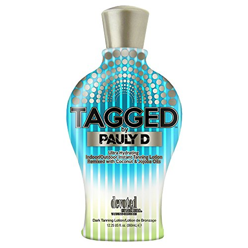 Tagged Tanning Lotion By Pauly D 12.25 Ounce