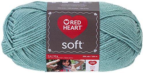 Red Heart Soft Yarn, Seafoam