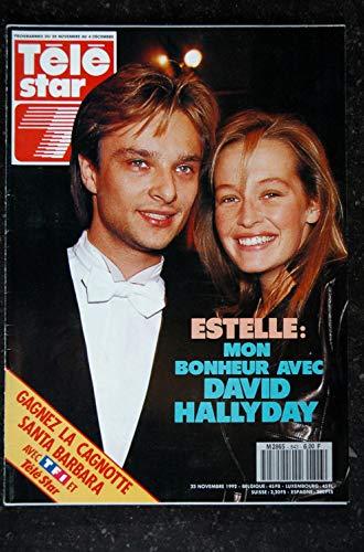 TELE STAR 843 23 novembre 1992 Estelle & David Hallyday Cover + 4 p. - Robert Wagner & Jill St John