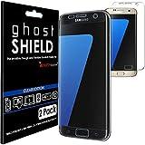 TECHGEAR [3 Pack] Protection Écran pour Galaxy S7 Edge [ghostSHIELD] Film de Protection Souple en TPU avec Protection Totale de...