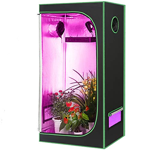 PYLYFE Hydroponic Grow Tent Mylar Reflective Growing Tent 24