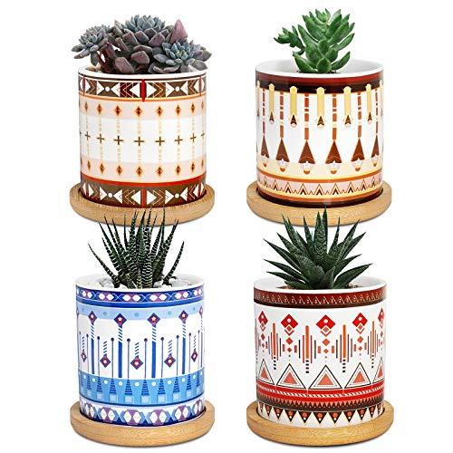 vasi per piante succulente, cachepot da 7,5 cm per piante da interno vaso per piante grasse piccolo