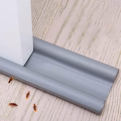 Xnuoyo Paraspifferi Sottoporta Paraspifferi per Porte Striscia di Tenuta Inferiore della Porta può Prevenire Efficacemente Vento, Polvere, Insetti e Isolamento Acustico