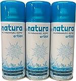 Rampi Deodorante Spray Profumo Natura Salvatessuti Mangiaodori Iginizzante Allontana Tarme per Tessuti Ambienti Auto Tende Scarpe Set 3 Bombolette (Artico)