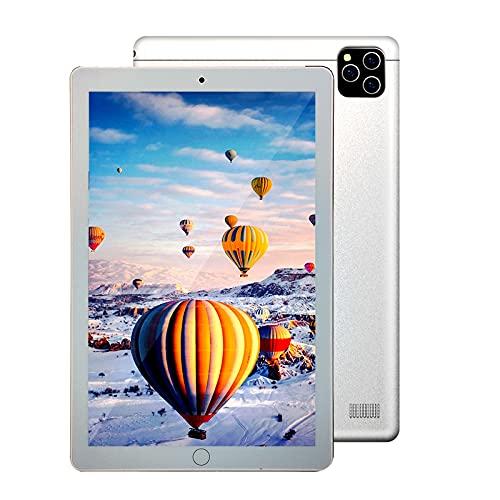GAOword Tablet PC con Android De 10.1 Pulgadas 6GB RAM + 128GB ROM Juego Completo Netcom 2 En 1 En Línea 2.0Ghz CPU De 10 Núcleos Cámara Dual 1960 * 1080 Bluetooth WiFi