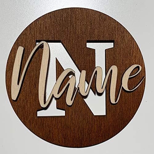 DRYSSON wensnaam houten letters kinderen baby kamer deur decoratie wand schild