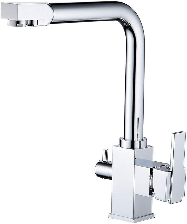 Küchenarmatur mit Touch-Sensor Multifunktions-Wasserhahn für warmes und kaltes W