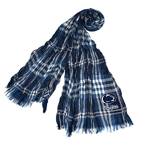 NCAA Penn State Nittany Lions Plaid Crinkle Scarf