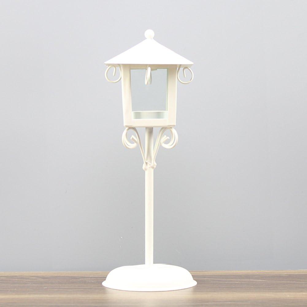 European style retro Recommendation Small sale street Creative iron lamp Candlestick