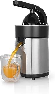 Orbegozo EP 4100 - Exprimidor zumo eléctrico de naranjas, brazo articulado, acero inoxidable, motor profesional AC de 85 W...