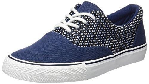 Springfield Bamba Frabric, Zapatillas de Deporte Hombre, Azul (Blue), 43 EU