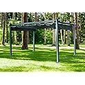 Hanover Adjustable Canopy 13 x 10 Ft Aluminum Pergola
