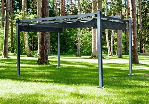 Hanover HANPERG13X10-GRY Adjustable Canopy Cover, Dark Gray 13 x...