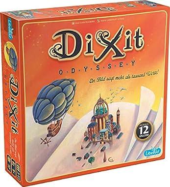 Das kompetitive Familienspiel Dixit Odyssey ist ein eigenständiges Grundspiel von Dixit und lädt ein, dass jeder Spieler sein eigenes inneres Kind wiederentdeckt Das abenteuerliche Kartenspiel bietet Emotionen und Überraschungen, die sowohl die Jüngs...