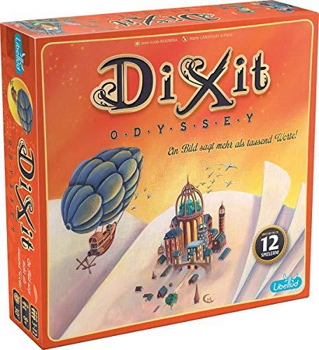 Asmodee Dixit Odyssey, Grundspiel, Kartenspiel, Familienspiel, Deutsch