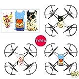 Drone Boxes - 3pcs Set Sticker Cool Waterproof Pvc Stickers Body Decals Drone - Sticker Drone Tello Dron With Mavic Quadcopter Tello Jy019 Boxes Tello Micro Drone 4k Gps Drone Spark Drone X8hg Pro