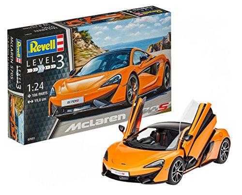 Revell MC Laren Maqueta McLaren 570S, Kit Modelo, Escala 1:
