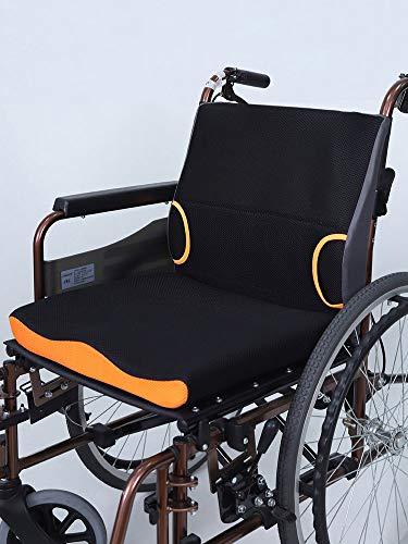 GHzzY Gel Zitkussen voor rolstoel, bureaustoel, eetstoelen en bank - Memory Foam Zitkussen voor rugondersteuning, Sciatica & Back Pain Relief