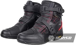 RidingTribe Bottes De Moto Chaussures De Cyclisme Respirant Bottes De Course Antid/éRapant Anti-Chute Chaussures De Locomotive Printemps Et /éT/é Chaussures De Moto