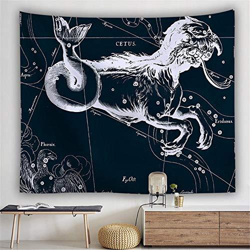 Mandala-Wandteppich,Böhmische Hippie Sternbild Adler Tier Muster,New Age Wall Hanging Tapestry,Tapestry Wanddeko Für Kinderzimmer Wohnzimmer Schlafzimmer Auch Als Yogamatte Picknickdecke Strandtü