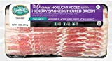Pederson's Natural Farms Hickory Smoked No Sugar Uncured Bacon - 10 Pack - Whole 30 Approved, Keto Diet, Paleo Diet, Nitrite and Nitrate Free, Sugar Free Bacon