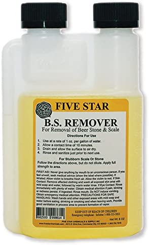 Five Star Beer Stone Remover-8 oz.