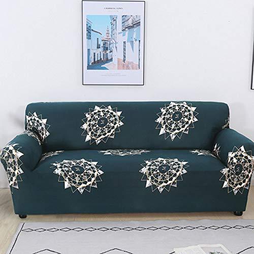 DSHRTY Funda de sofá,Elegante Funda de sofá elástica Funda de sillón para Sala de Estar 1/2/3/4 Asiento Funda de sofá elástica Decoración para el hogar 45 * 45 cm Funda de cojín, Modelo 13,2 Asiento