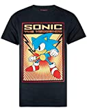 Large bold graphic print Official Sonic The Hedgehog Merchandise Great for gaming fans Poster style design