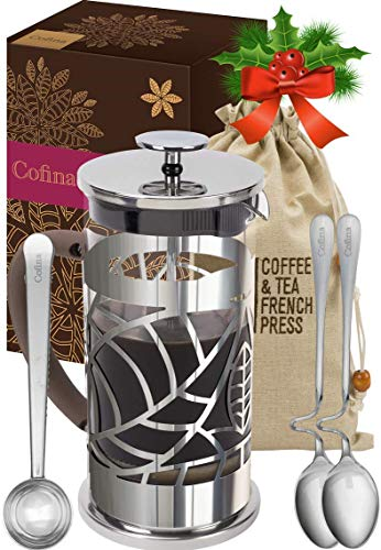 Cofina French Press Coffee Maker - 34 oz Large...