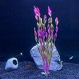 RIFNY Las plantas de acuario Plantas Acuáticas Artificiales, Plantas De Acuario De Plástico Plantas De Simulación Vívida