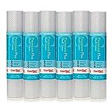 Con-Tact Brand Premium Plus - Revestimiento para estantes y cajón, 12 pulgadas x 6 pies, Nova Crystal Clear, 6 rollos