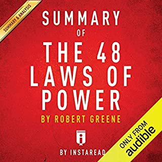 Summary of The 48 Laws of Power: by Robert Greene | Includes Analysis audiobook cover art