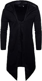 MODOQO Cardigan Sweater for Men Casual Hoodies Sweatshirt Jacket Coat for Autumn