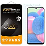 (2 Pack) Supershieldz for Samsung Galaxy A30s Tempered Glass Screen Protector, Anti Scratch, Bubble Free