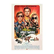 """Once Upon A Time in Hollywood - Movie Poster - Size 18""""x28"""" This is a Certified Poster Office Print with Holographic Sequential Numbering for Authenticity."""