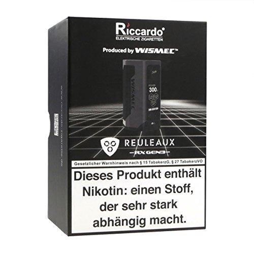 Wismec Reuleaux RX GEN3 Box MOD 300 W, Riccardo e-Zigarette / Akkuträger, schwarz