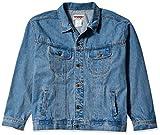 Wrangler Men's Unlined Denim Jacket, Vintage Indigo, Large