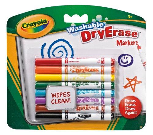 Crayola 98-2002 - Dry Erase Filzstifte, 8 Stück