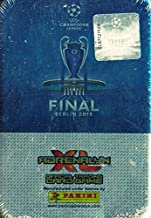 2015 Panini Adrenalyn UEFA Champions League Update EXCLUSIVE Factory Sealed Collectors TIN! Includes 5 Booster Packs with 30 Cards+ Special Limited Edition Card ! IImported From Europe!