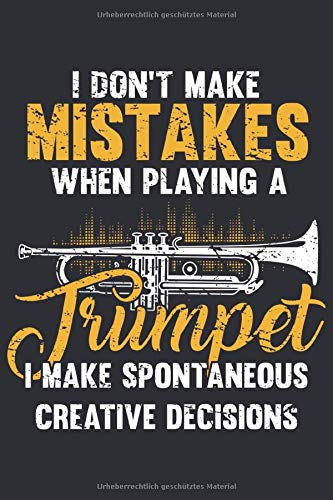 Trompete Notizbuch: Ein perfektes Geschenk für alle Trompeten Spieler