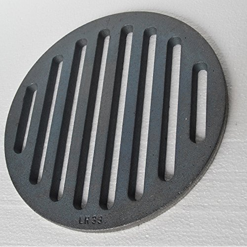 Find Discount Round Stainless Ø 33 cm - oven rack iron grate ash grate panel grate grate stove grat...